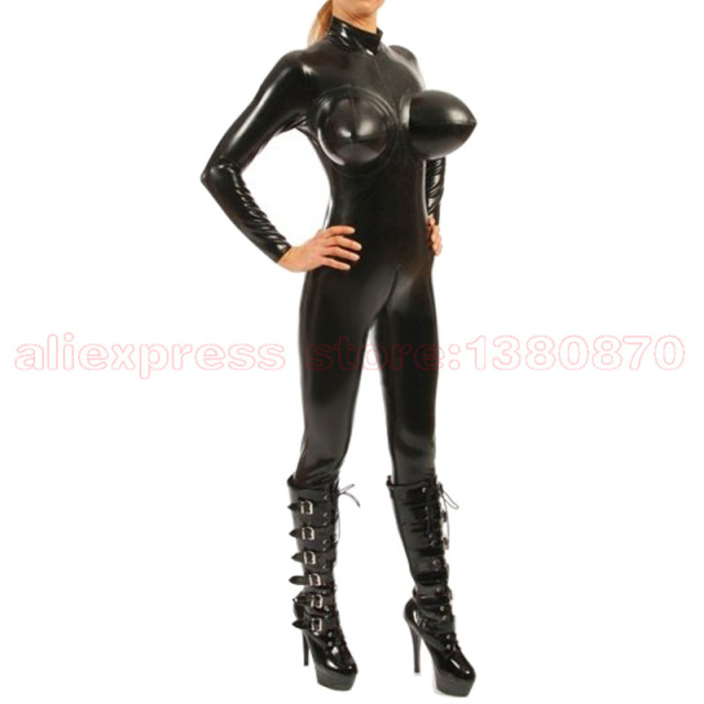 Inflatable Breast Latex Bodysuit Women Tight Costumes Rubber Catsuit S-LC238  sc 1 st  AliExpress.com & Inflatable Breast Latex Bodysuit Women Tight Costumes Rubber Catsuit ...