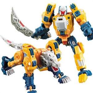 Image 3 - ווי ג יאנג שינוי 5 סרט צעצועי ילד מגניב SS אנימה פעולה דמויות רובוט רכב KO מטוסי דינוזאור דגם אוסף צעצועים ילדים
