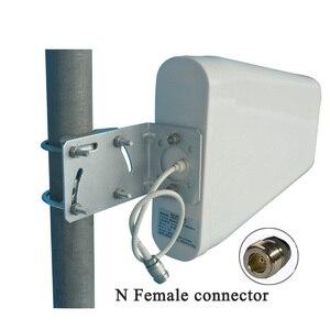 Image 2 - Antena ao ar livre de cdma/gsm dcs, ganho alto de 11dbi 800 ~ 2700mhz n fêmea booster de sinal aws wcdma lte, frete grátis