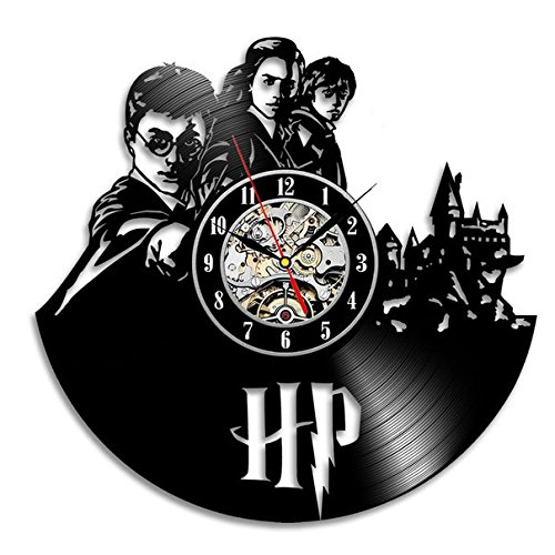 Harry Potter Hermione Vinyl Record Wall Clock Decorate ...