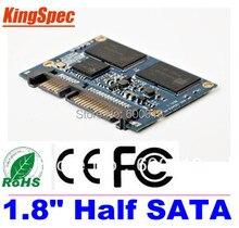 L Kingspec 1 8 INCH Half SATA III SATA II Module MLC 64GB 4 Channel For