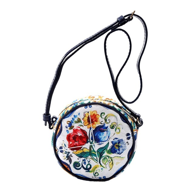 Girls' Round Colorful Bag