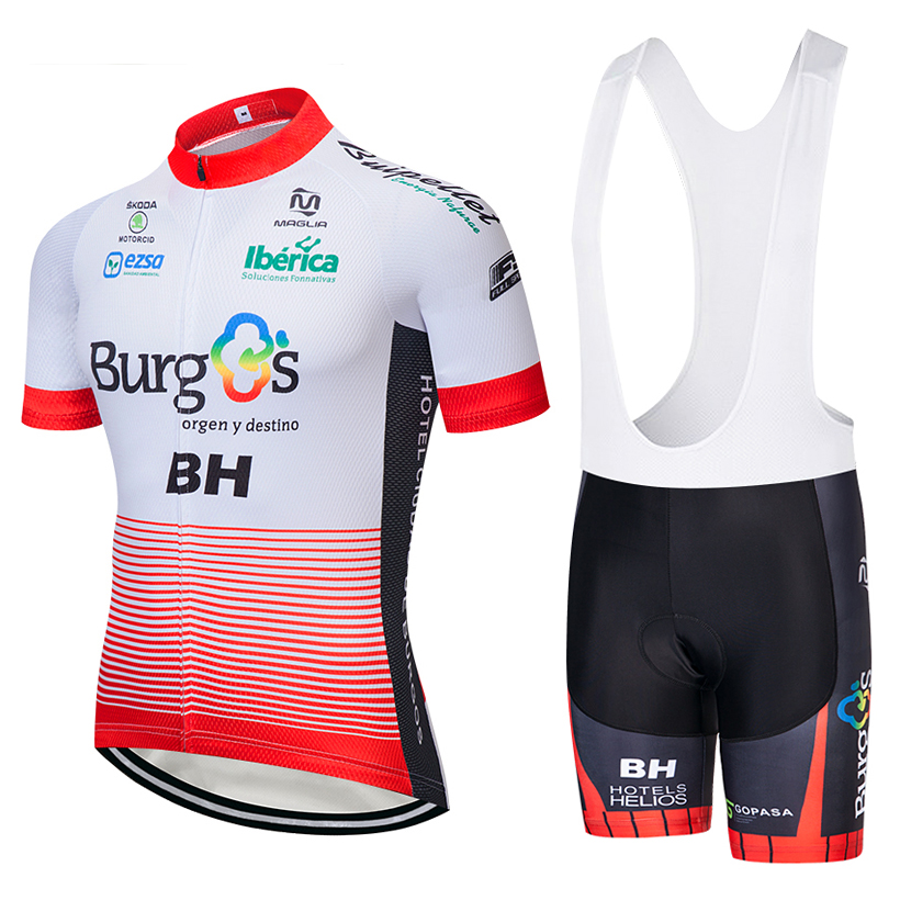 2018 team BH short sleeve cycling jersey 9D gel pad bike shorts ropa  ciclismo mens quick 56ecc6be9