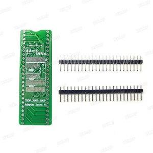 Image 4 - RT809H EMMC Nand FLASH Programmer +16  Adapters +TSOP56 TSOP48  SOP8 TSOP28 Adapter+ SOP8 Test Clip WITH CABELS EMMC Nand