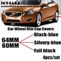 Автомобильный Стайлинг  4 шт.  60 мм  64 мм  автомобильный обод колеса  центральный колпачок  чехлы  эмблема для XC90  XC70  XC60  V40  V50  V60  V70  V90  S40  S50  S60  ...