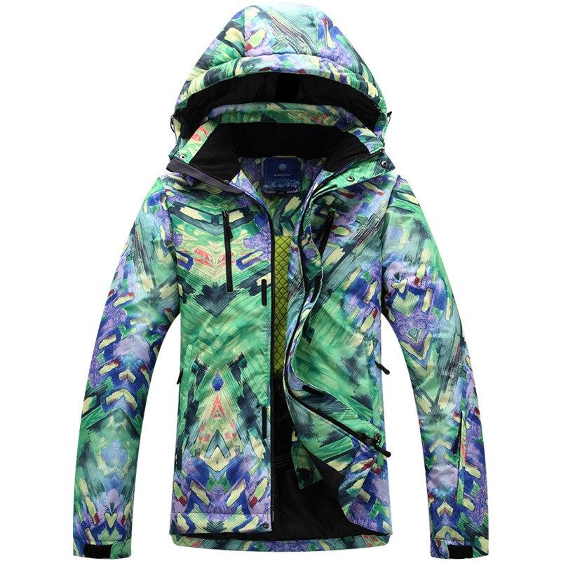 2018 nouveaux hommes veste de Ski nouveau extérieur coupe-vent imperméable thermique mâle manteau de neige snowboard Ski vestes Ski Sport vêtements