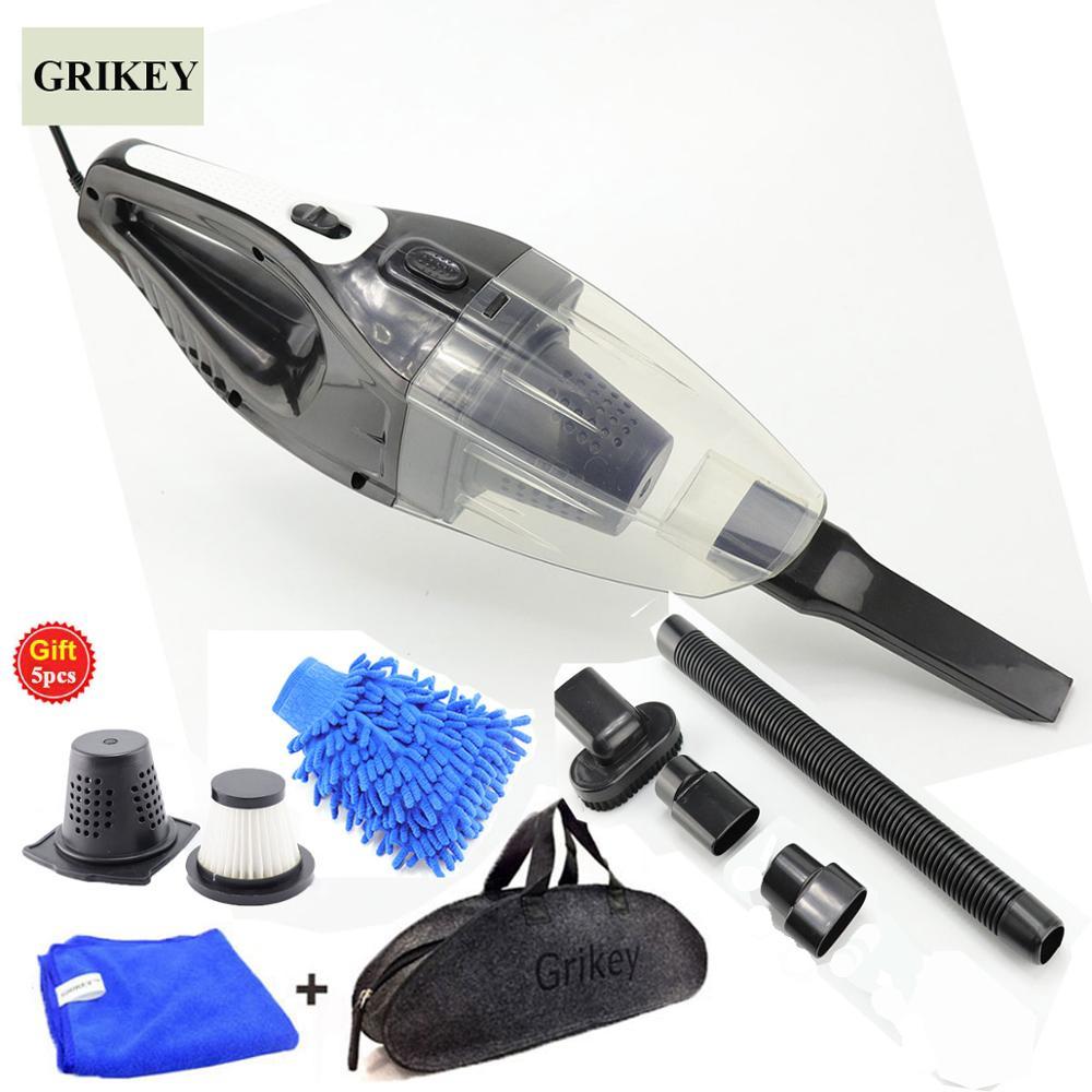 GRIKEY 12 В пылесос для автомобиля 120 Вт сильный Мощность сухой мокрой аспиратор Авто пылесос ...