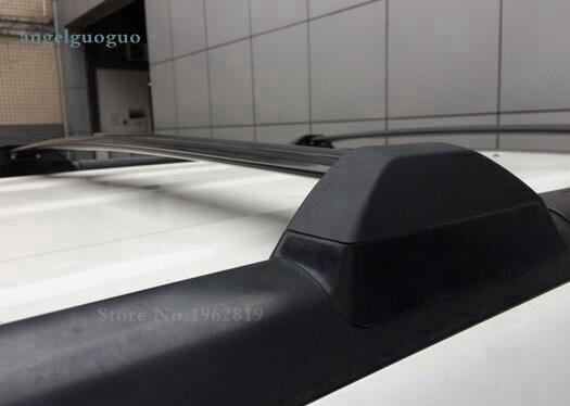 Techo bastidores de plástico barra transversal de aluminio del coche para honda