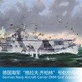 """1/350 Доля Сборки модели Немецкий Флот """"Графф USS Zeppelin""""."""