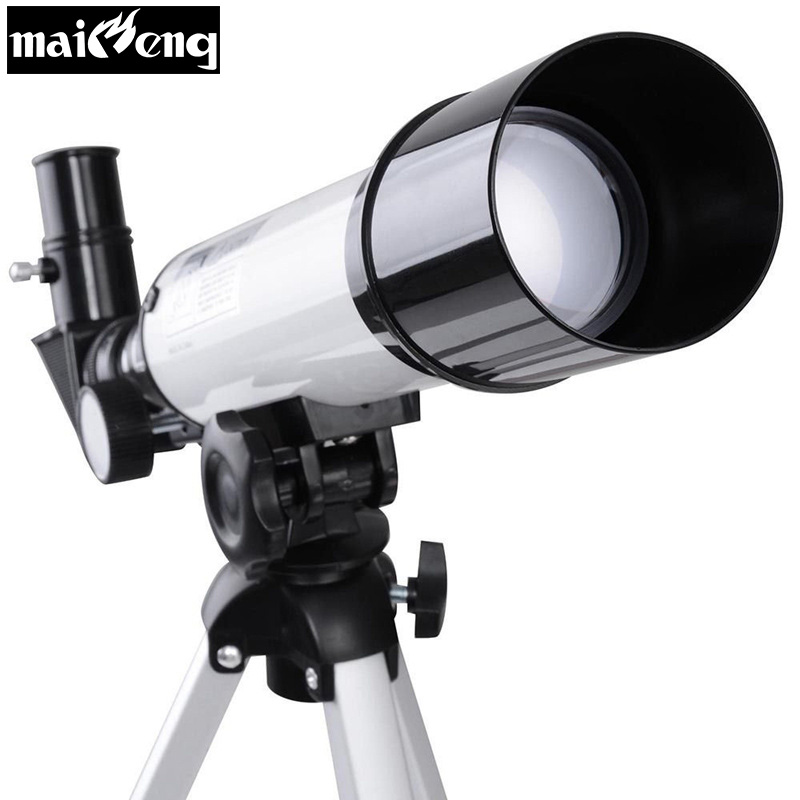 New Children Educational Astronomical Telescope monocular Optical toys for kids stargazing and Moon watching with free tripod kid s gift entry level astronomical telescope with tripod for children