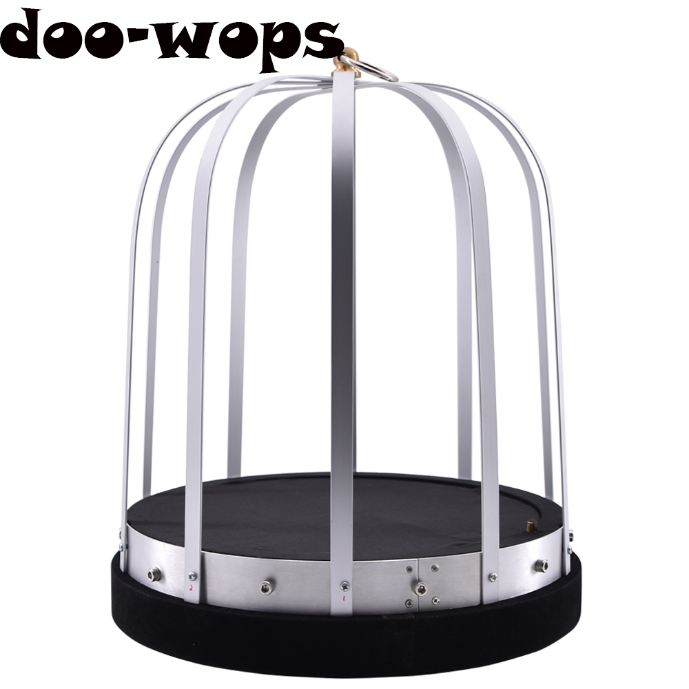 цена на Automatic Fire Cage Magic Tricks Dove Appearing From Empty Cage Magia Magician Stage Gimmick Props Illusion Mentalism Funny