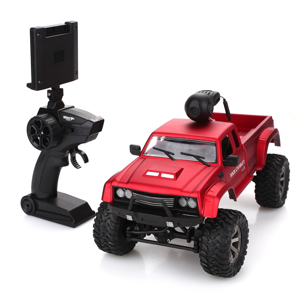 Professional Smart Remote Control Car WIFI FPV 480P Camera HD Lens Control Drift With Camera Robot Car High Quality(China)