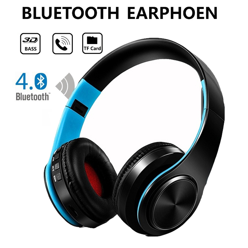 YEINDBOO Fashion Wireless Headphones Bluetooth Headset Headphone Earbuds Earphones With Microphone For PC mobile phone music newest h8 android 6 0 tv box amlogic s905x quad core cortex a53 2g 8g smart android tv box