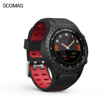 SCOMAS-TK2 Smart Watch Activity Tracker Fitness for Men Heart Rate Monitor Sleep Monitoring GPS compass Bracelet