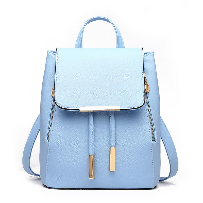 Summer 2018 New Double Shoulder Bag College Wind Leisure Knapsack Korean Wave Fashion Lady Bag Woman Bag