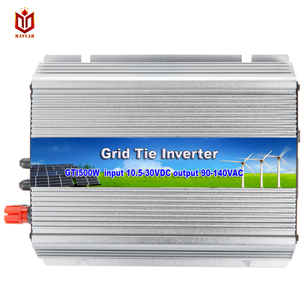 MAYLAR@ Micro Invereter Grid Tie Inverter WV600W Input 22-50VDC Output 180-260VAC On Grid Inverter Power Inverter free shipping 600w wind grid tie inverter with lcd data for 12v 24v ac wind turbine 90 260vac no need controller and battery