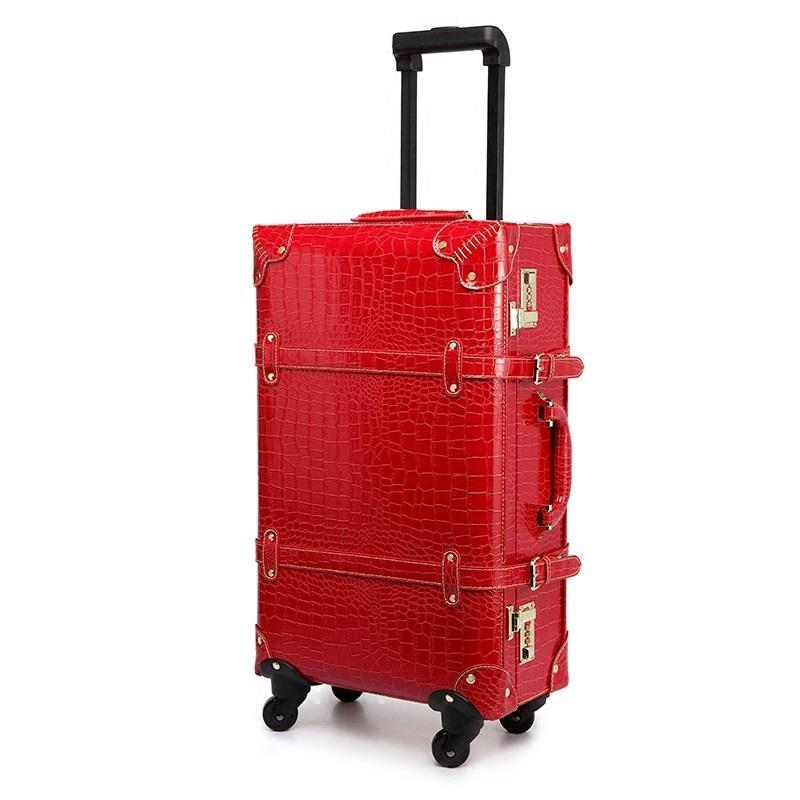 18222426inch PU Leather wheels suitcases and travel bags valise cabine valiz koffer maletas suitcase carry on luggage 162024inch pu leather trip suitcases and travel bags valise cabine maletas valiz suitcase koffer carry on luggage
