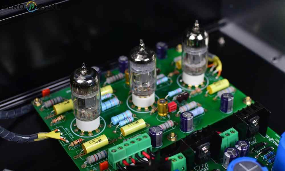 ZEROZONE ( DIY Kit ) MM RIAA Turntable Preamplifier Ear834 12AX7 Tube Phono  Amplifier Full Kit