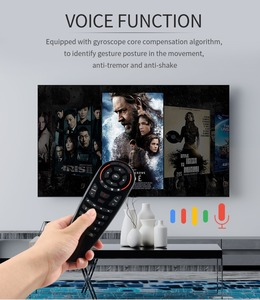 Image 5 - G30 remote control Air Mouse 2.4G motion sensing Gyro Voice Universal RF remote control IR Learning For PC smart Android TV Box