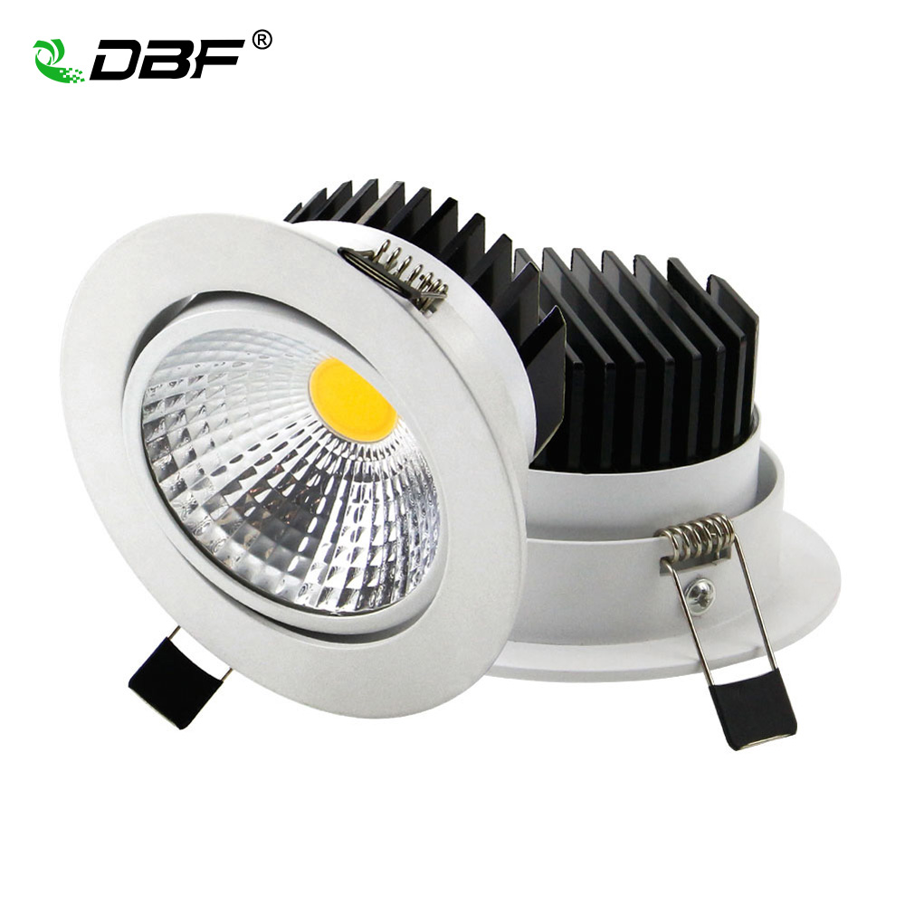 the new super bright recessed led dimmable downlight cob 5w 7w 10w 12w led spot light led. Black Bedroom Furniture Sets. Home Design Ideas