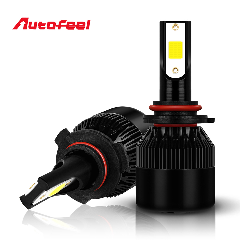 Autofeel 9006 Led Bulbs Car Headlight Led HB4 Fog Lamp 36w 8000LM fit 12V Led Car 6000K Super Bright Light Low Beam Car-stying