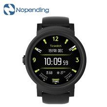 Новый оригинальный ticwatch e Спорт Смарт часы SmartWatch Bluetooth, Wi-Fi 1.2 ГГц MTK2601 GPS OLED сердечного ритма Музыка для Xiaomi IOS MI5