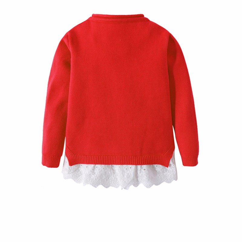 Cotton Girls Sweaters Solid Top With Button Long Sleeve Children Clothes Warm Girl Toddler Cardigan Autumn Winter Kids Sweater (3)