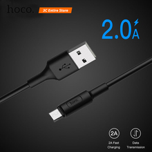 HOCO Micro USB Cable Fast Charging Wire Data Micro USB Cable for Xiaomi Samsung Android Microusb Charger Cord Mobile Phone Cable