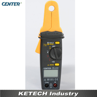 Mini Alta Resolução AC/DC Clamp Meter Tester CENTER223 dc clamp dc clamp meter clamp meter -