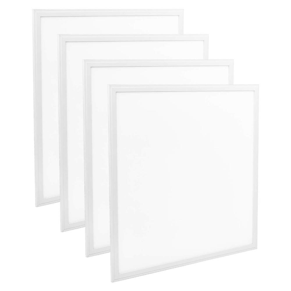 Led-beleuchtung Led-flächenleuchten Praktisch 4 Pack/set Led Panel 48 W Licht 600*600mm 24x24 Zoll 4800lm Hohe Helligkeit Smd2835 Decke Licht Garantie Led Drop Decke Licht