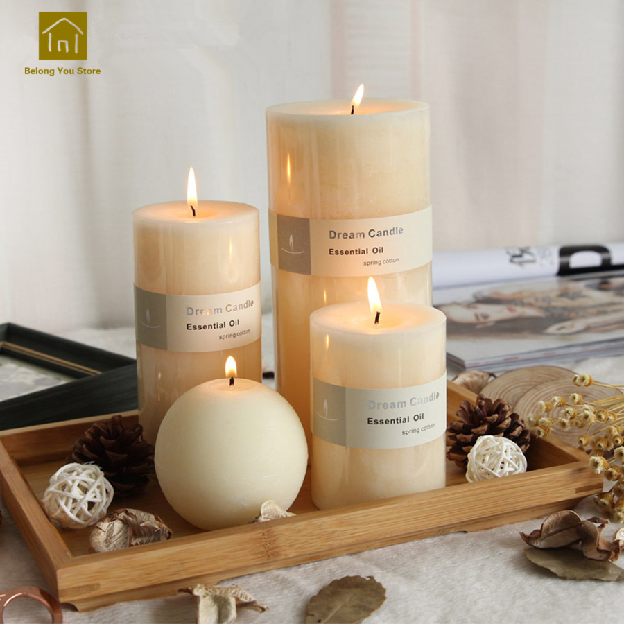 Chandelle Bougie Us 26 32 5 Off Aliexpress Buy Candles Wedding Decoration Bougies Et Chandelle Velas Wax Decorative Candle Making Scented Bougie Blanche Pillar