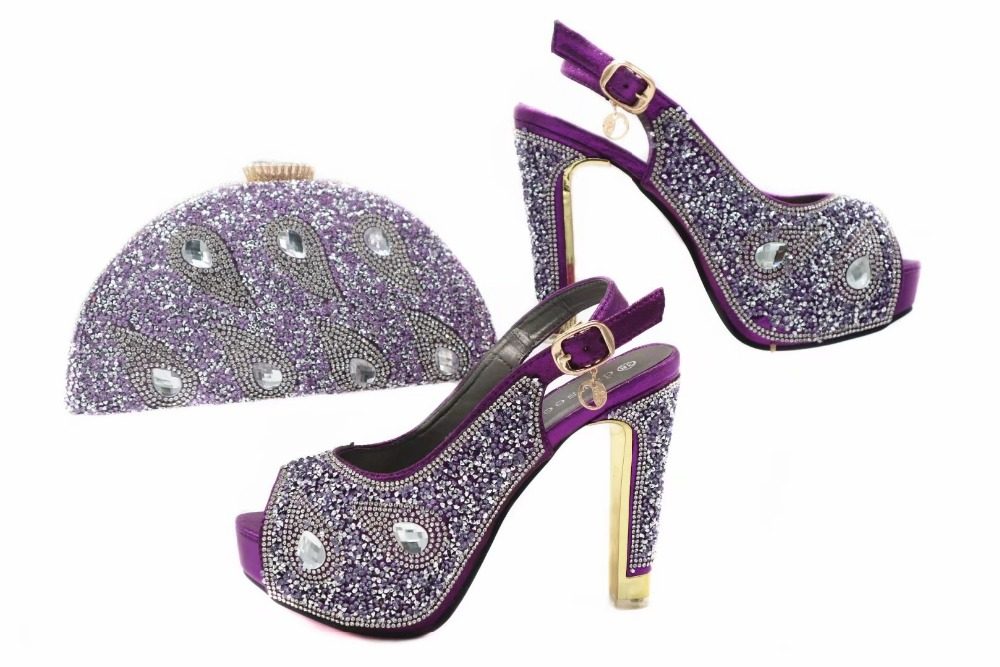 Hot sales high heel 4.8 inches women sandal shoes with matching clutches bag free shipping italian shoes and bag set SB8055 cd158 1 free shipping hot sale fashion design shoes and matching bag with glitter item in black