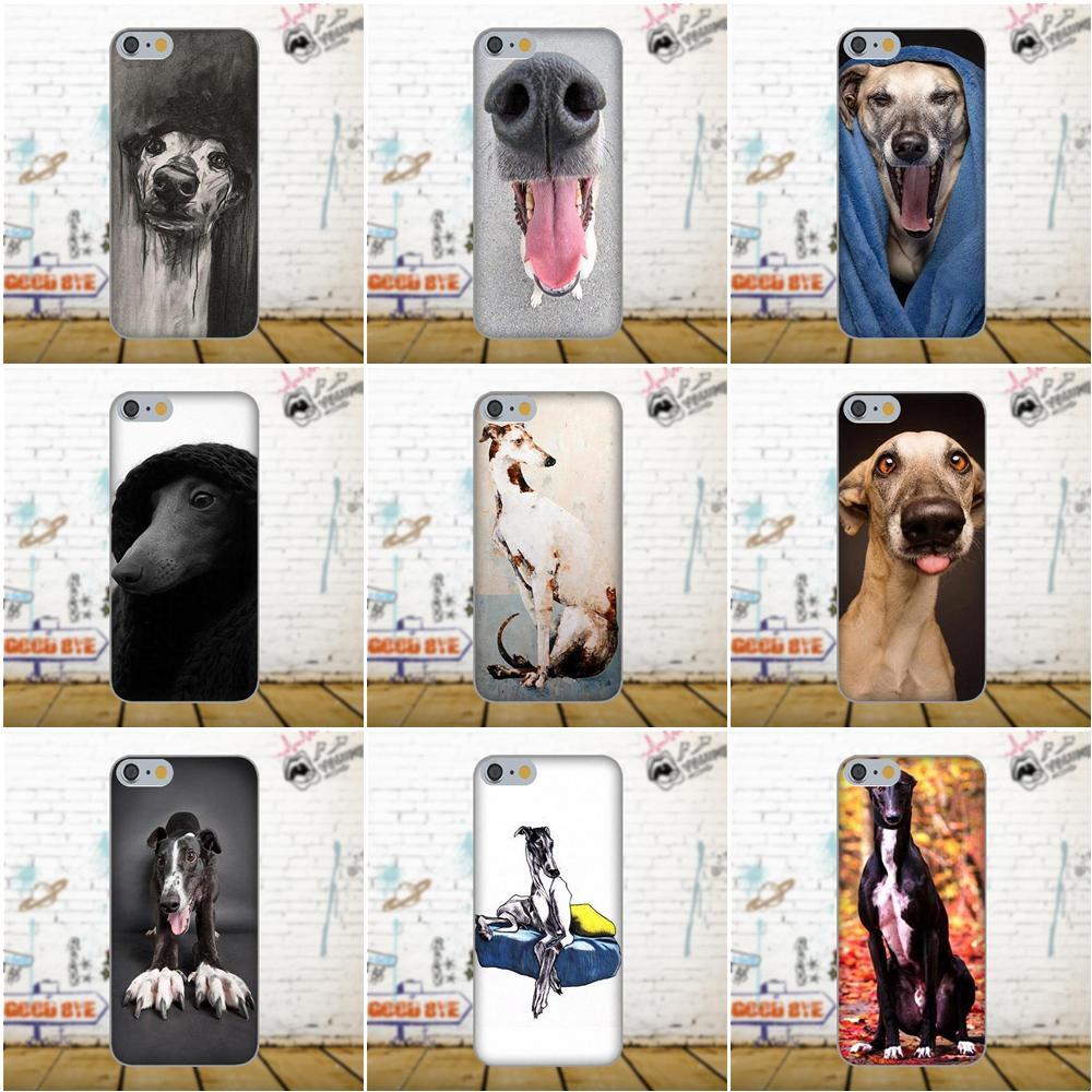 Oedmeb For Xiaomi Redmi 5 4A 3 3S Pro Mi4 Mi4i Mi5 Mi5S Mi Max Mix 2 Note 3 4 Plus TPU Cover Galgo Greyhound Dog Funny