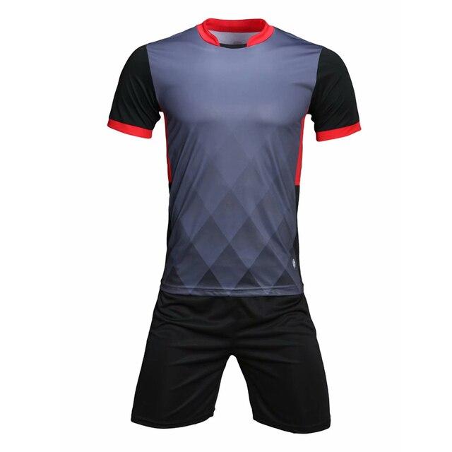 Hombres Fútbol para niño Set Survetement fútbol Futbol deportes tren uniformes  chándal Maillot De pie 2018 be10c0ddb72b5