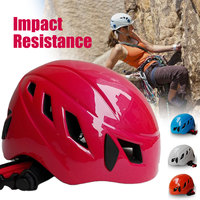 Safurance Outdoor Unisex Mountain Rock Climbing Helmet Climbing Water Sports Rescue Safety Helmet Hard Hat Cap Adjustable