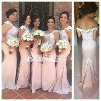 Vestido De Festa Casamento lace V neck Mermaid Long Brides Maid Dress Party Custom Made Bridesmaid Dresses 2015 New Arrival