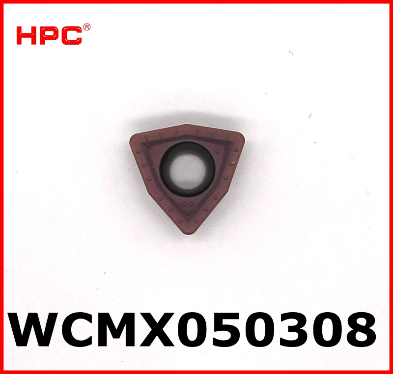 10 Pcs Of WCMX050308 CNC Cutting Tools Tungsten Carbide Drilling Inserts Drilling Cutter