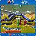 Высокое качество надувные слайд вышибала для детей крытая спортивная площадка/коммерческое использование надувной батут