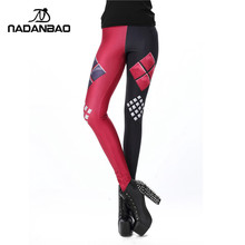 3D Printed Womens Super Hero Fashion Leggings