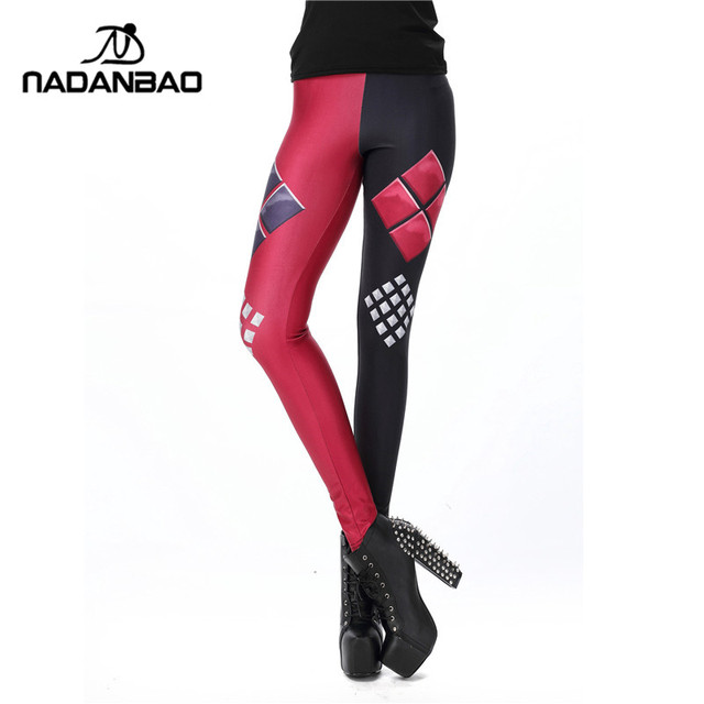 New Fashion Women leggings Super HERO Deadpool Printed legging for Woman pants