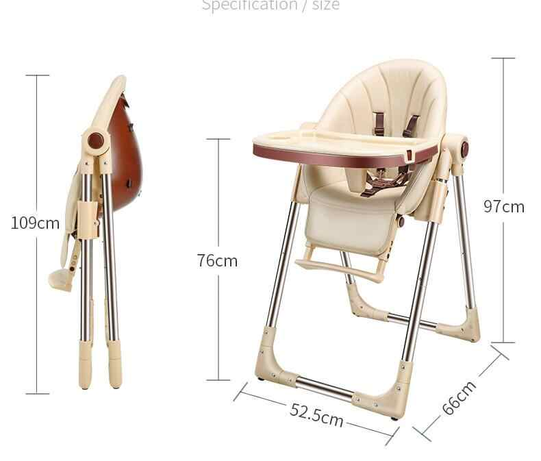 Baby In Kinderstoel.Baby Feeding Chair Highchairs Kids Dining Table Baby Stoel Kinderstoel