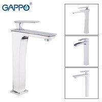 GAPPO Basin Faucets waterfall tall brass Faucet basin mixer sink tap bathroom faucet water taps waterfall mixer griferia