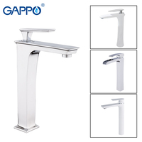 GAPPO Basin Faucets waterfall tall brass Faucet basin mixer sink tap bathroom faucet water taps waterfall mixer griferia