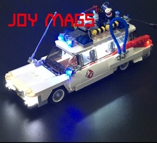 JOY MAGS LED Light Up Kit Building Blocks Kit For Ghostbusters Ecto 1 Compatible With Lego