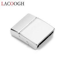 Оптовая продажа медные магнитные застежки с отверстиями размером