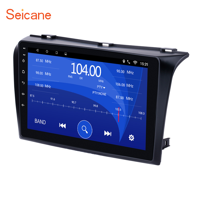 Seicane Android 6.0 9 inch GPS Car Radio Multimedia Player for 2004 2009 Mazda 3 support Bluetooth USB WIFI Rearview Camera