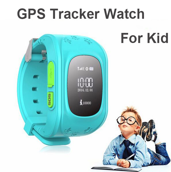 2018 Smart Phone GPS Watch Children Kid Wristwatch Q50 GSM GPS Locator Tracker Anti-Lost Smartwatch Child Guard For iOS Android