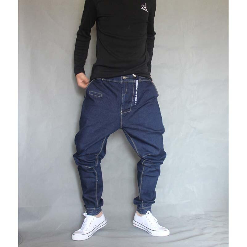 Us38 Jeans Stil Lose Baggy Größe Hop Leichte 28 Hip Elastische Japan Große 36 Harem Hosen Männer Denim 74japan In Hose Z8wPkn0NXO
