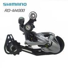 Shimano Alivio RD-M4000 27 Скорость RD M4000 горный велосипед ТЕНЬ 9-Скорость задний переключатель Обновление от M430 Lucky Crazwind