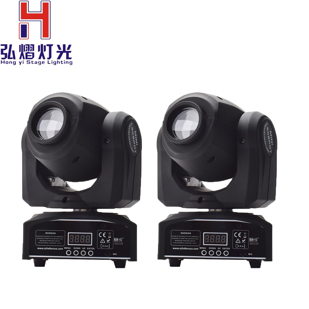 (2 pieces/lot) Professional American DJ Stage Light CREE 10W Led Pocket Moving Head  led LCD Display Rotating Color Gobo Wheel (2 pieces/lot) Professional American DJ Stage Light CREE 10W Led Pocket Moving Head  led LCD Display Rotating Color Gobo Wheel